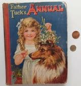 Father Tuck's Annual vintage 1920s big childrens book 1923 POOR CONDITION